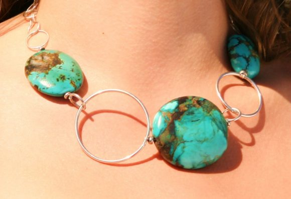 Tibetan Turquoise Detail Necklace