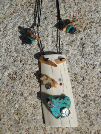 Rocx Collection Bark Necklace