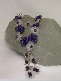 Mauve Bijoux Necklace