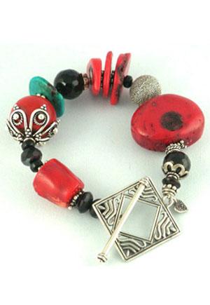 Rocx Collection Silver Bracelet