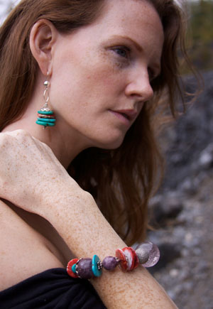 Rocx Collection Bracelet and Earrings