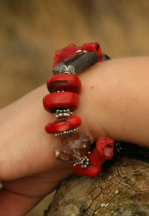 Red Rocx Collection Bracelet