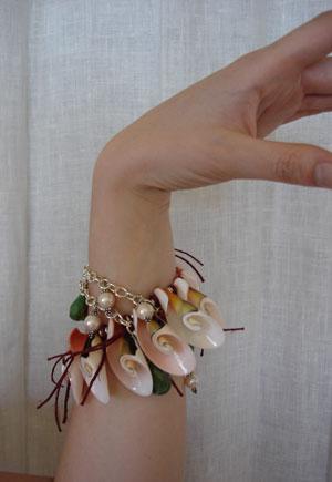 Rocx and Shells Bracelet