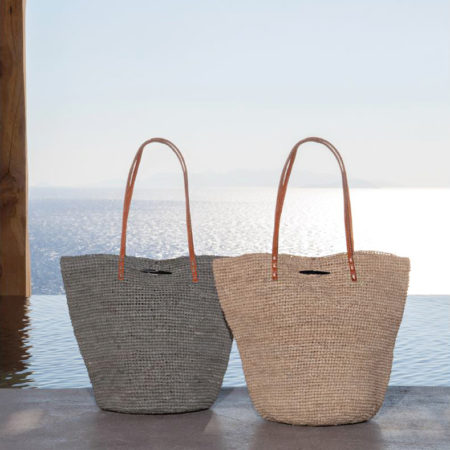 Tan and Grey Baskets